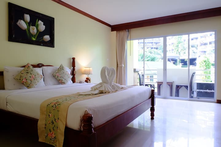 Pranang Flora House,Ao Nang beach 2 - Ao nang  - Apartment