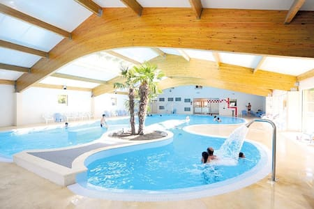 Mobile-home avec piscine - Les Mathes - Lain-lain