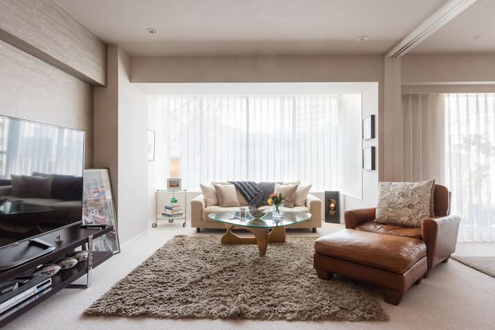 Luxury Two-Bedroom Apartment Shirokane - Minato-ku - Apartament
