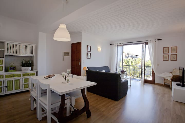 Piso céntrico y confortable, espectaculares vistas - Porto Cristo - Apartment