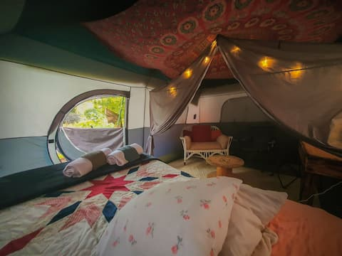 A Tent in the Inn's Garden (Camping/Glamping)