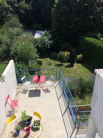 Terrasse & jardin