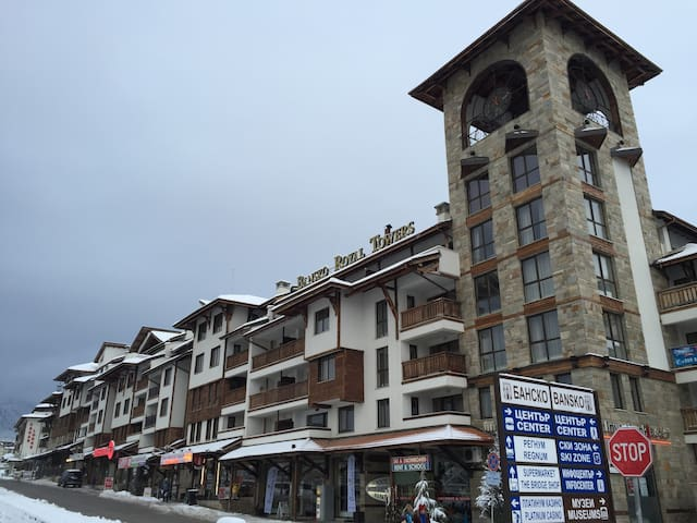 Spacious, self contained apartment in Spa complex. - Bansko - Apartment