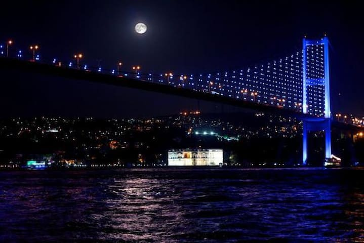 ORTAKOY ISTANBUL 6BR  CITY CENTER VILLA SEA VIEW