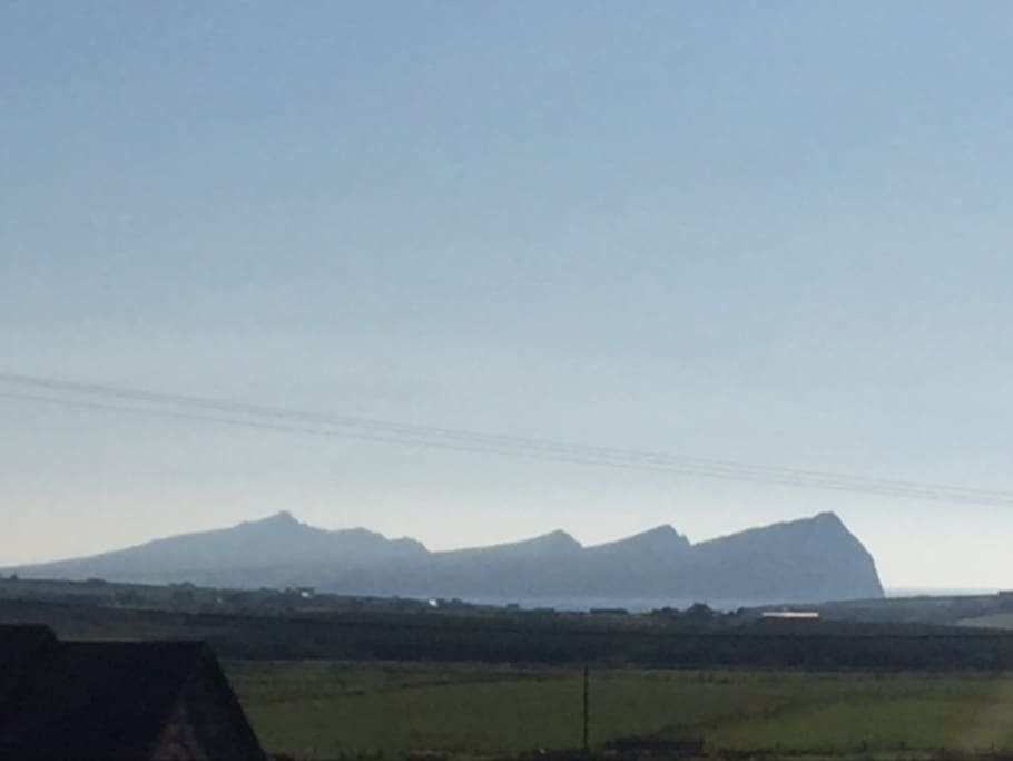 The Three Sisters. View from the house