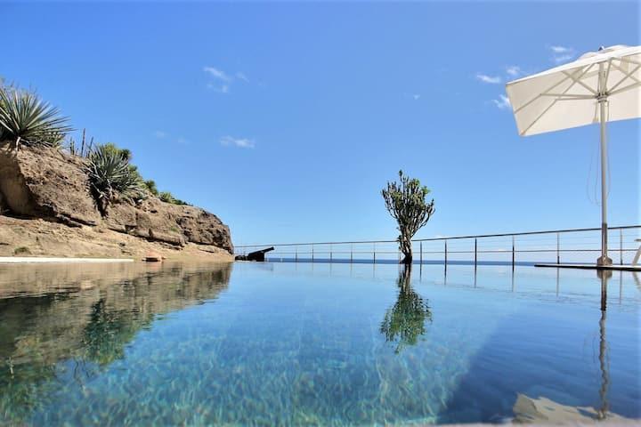 Villa piscine 5ch avec vue imprenable sur l'océan