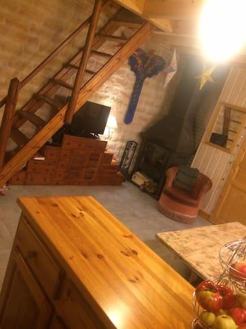 Petite maison cosy aux Houches