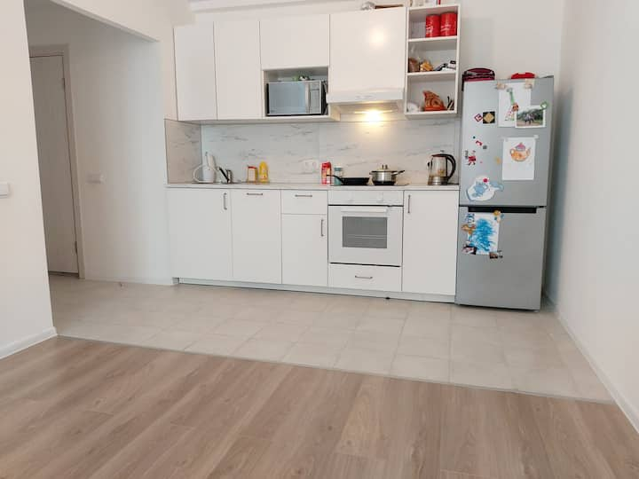 New room in a new house close to airport Vnukovo
