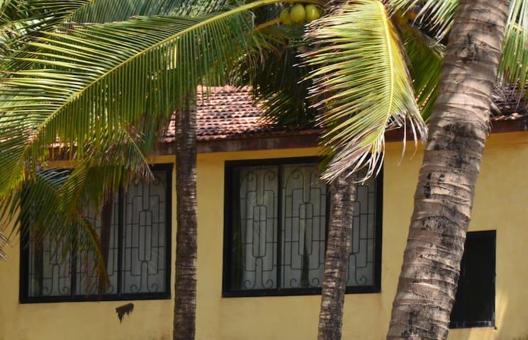 Дом с 3-мя спальнями у пляжа Ашвем - Pernem - Casa