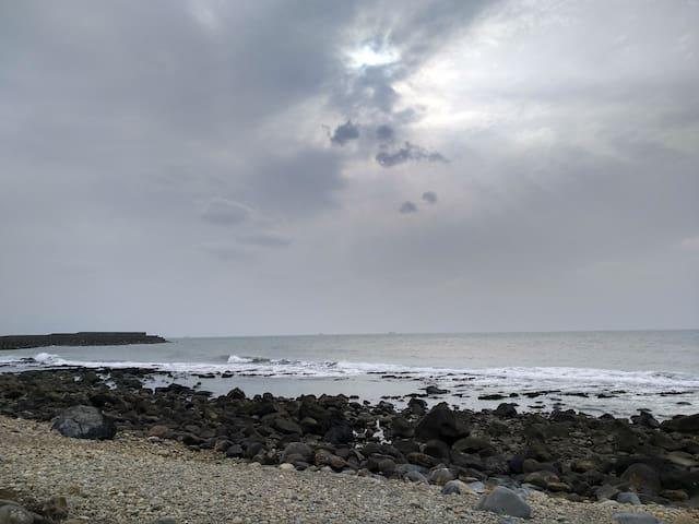 5分鐘到海邊的步道漫遊