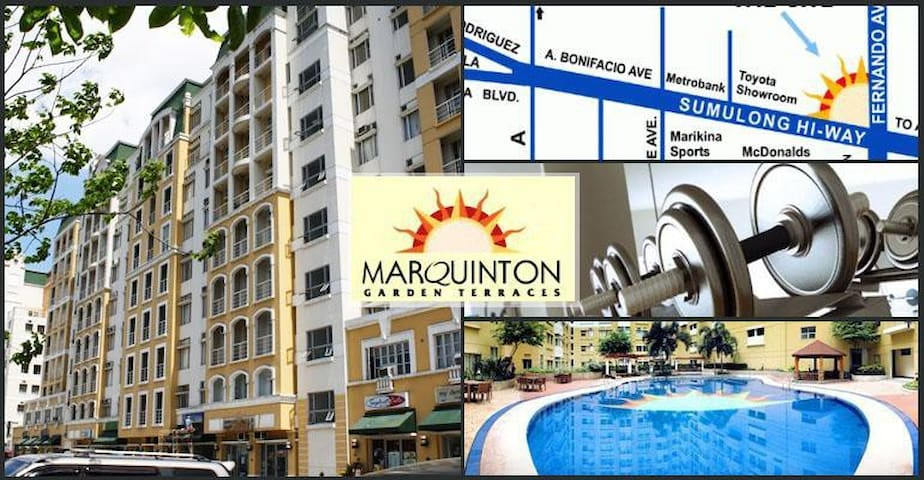 Marquinton 1 bedroom condominium  (9th floor)