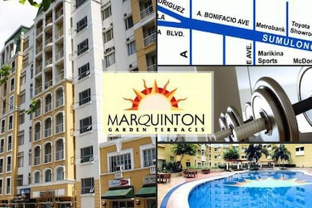 Marquinton condo  (9th floor) - Marikina
