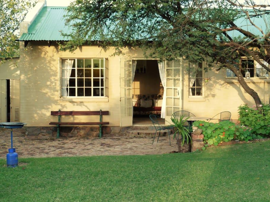 Sunbird Cottage in summer!