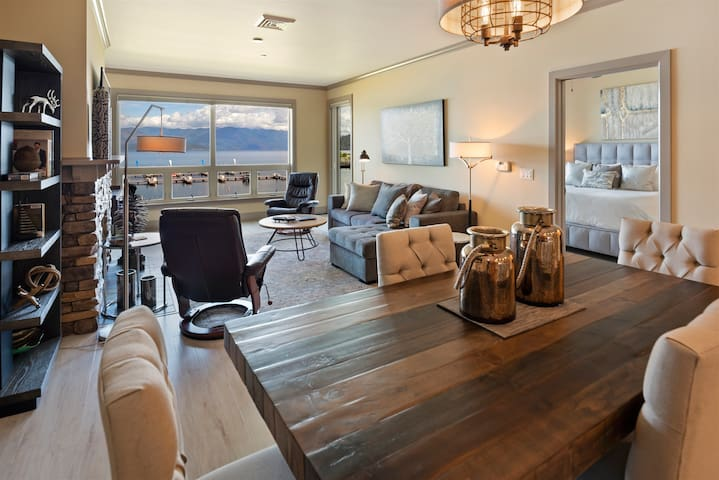 NEW!  Delightful & Elegant Waterfront Condo - Seasons at Sandpoint