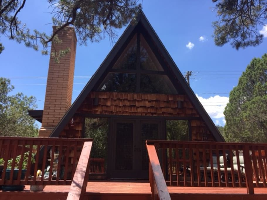 You can't beat the charm of an A-Frame