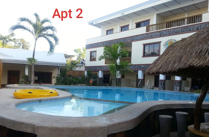 ALONA BEACH! 1 Bedroom Bungalow 5min. to the Beach