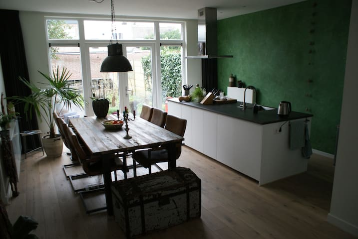 Spacious family house near Amsterdam and beach