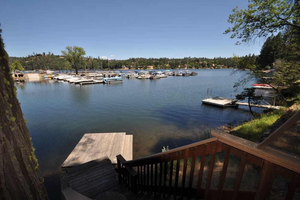 Skyridge Lake House. Lakefront. Pine Mountain Lake Vacation Rental, located just 25 miles from the entrance of Yosemite, Hwy 120 corridor. Unit 15 Lot 120