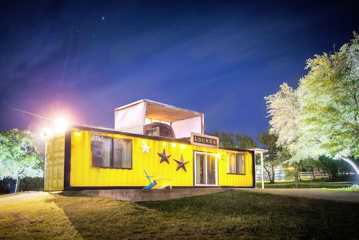 40' Container Home at Old Stick Ranch