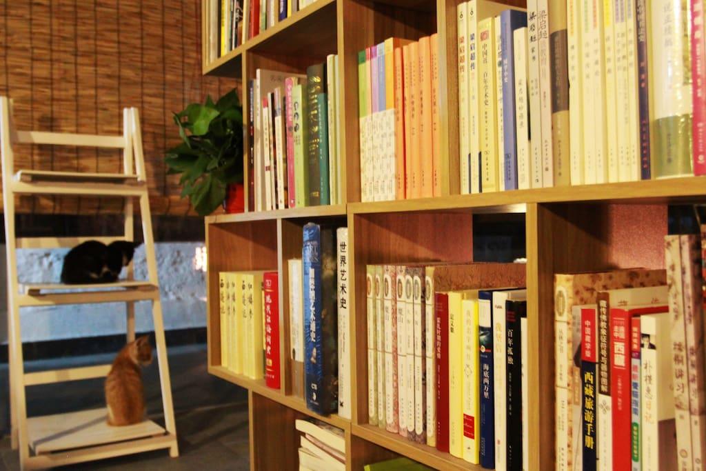 您可以阅读我们提供的图书