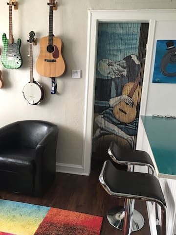 Five Points Studio in best neighborhood in town