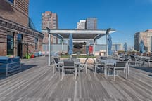Rooftop sitting area