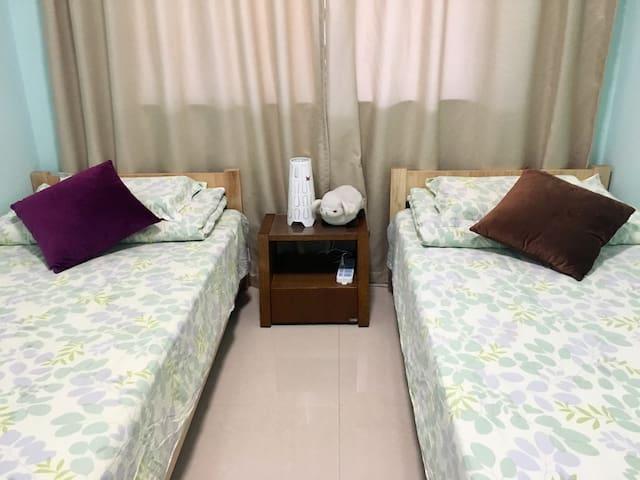 """""""春"""":2张1.0米单人床"""