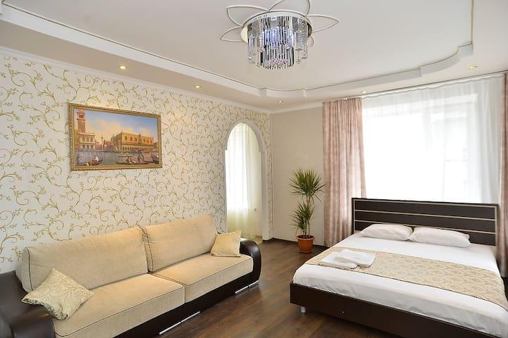 Апартаменты на Ленинградской 79 - Vologda - Leilighet