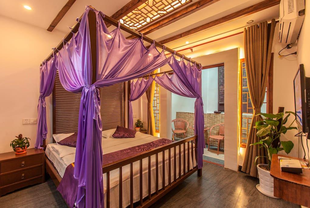 中式架子大床房