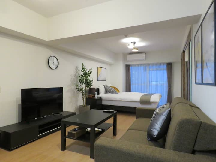 (K501)Hakata st 8 min-walk★Best Location/Free WiFi
