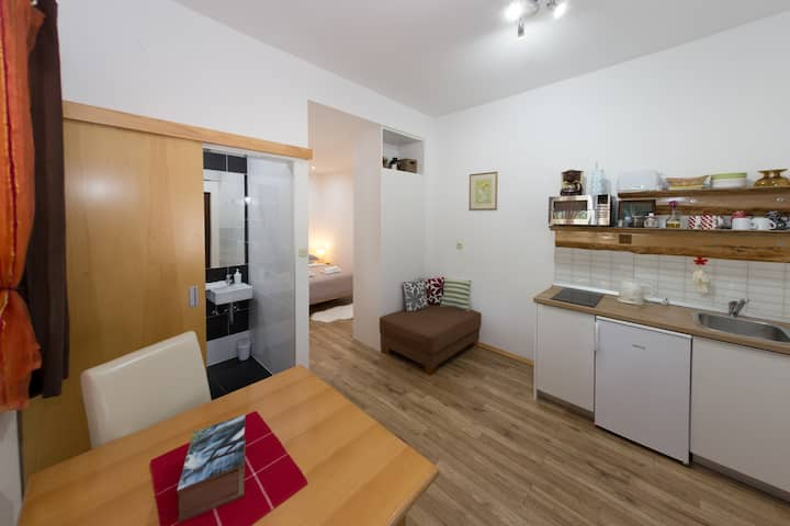 Center of Korenica, Studio Plitvice Lacus for 2