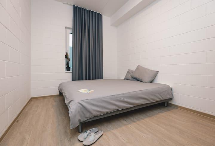 Kahe magamistoaga korter, 15 minutit kesklinnast