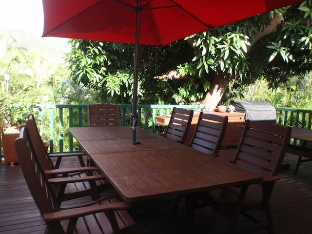 Tropical living only 5 minutes from the beach - Nelly Bay, Magnetic Island - House