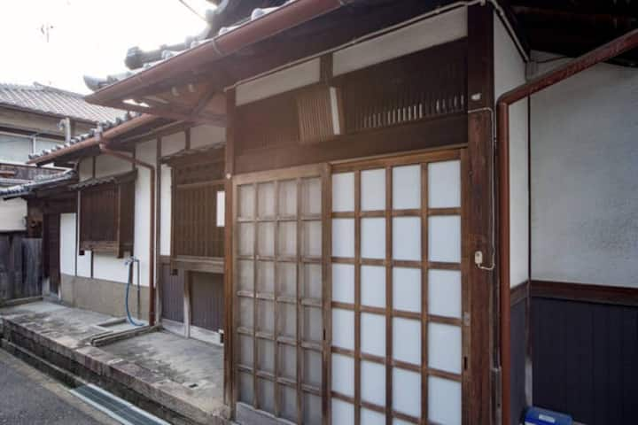 Traditional Japanese house - a room for 4 ladies