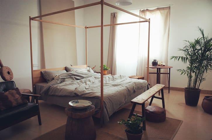 「田园晚风」开在闽南老房子里的艺术寓所