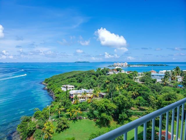 Spectacular Ocean View, 24/7 Secured Condominium