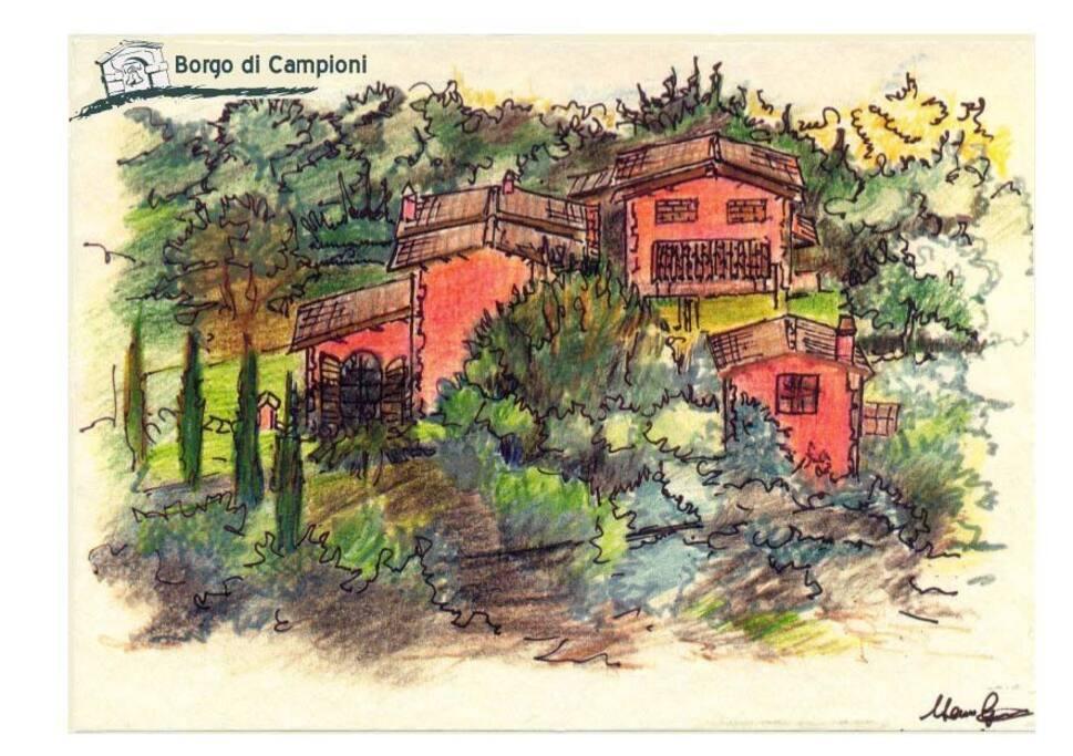 Post card from Villa Campioni
