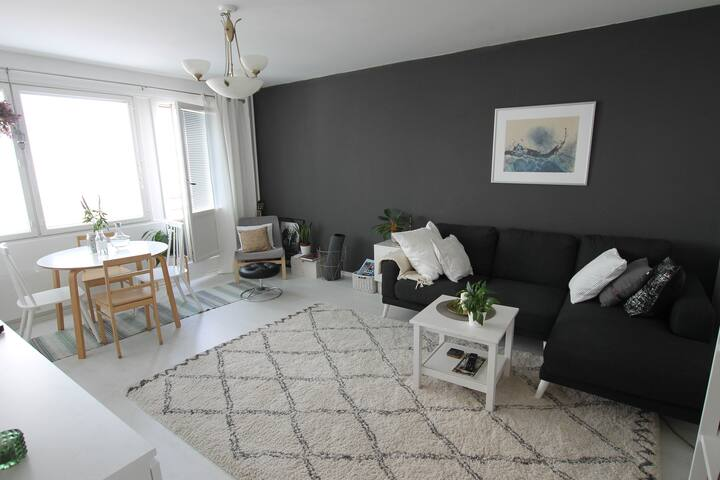 BEAUTIFUL TWO ROOM APARTMENT IN THE HEART OF CITY