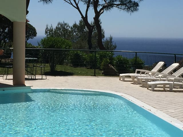 Monaco Montecarlo Cote d'azur swimming pool shared - Beausoleil - Rumah