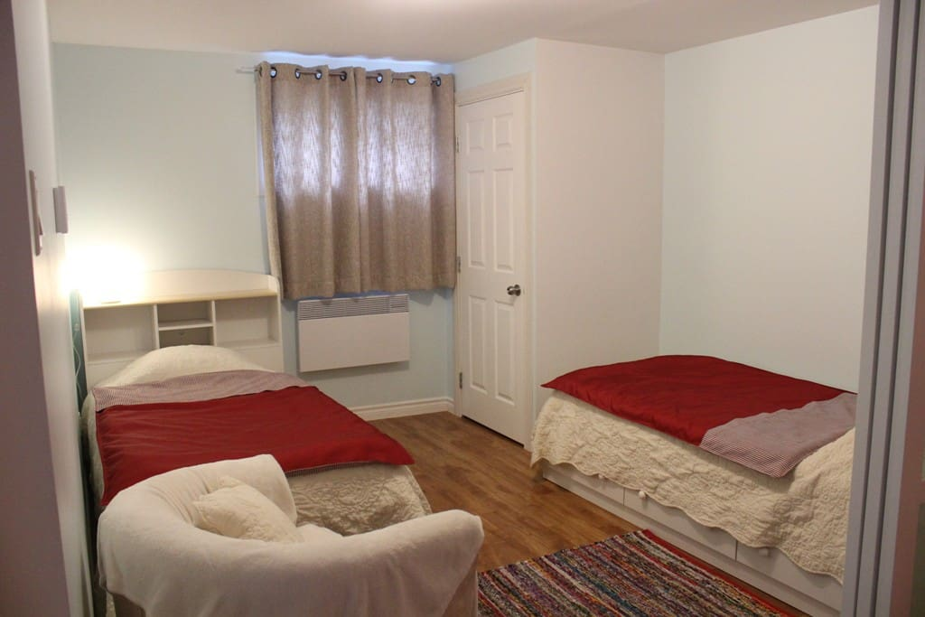 Chambre 2 (2 lits simples)