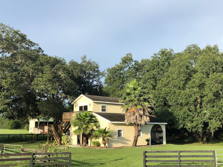 Bunkhouse Overlooking 10 Acre Horse Farm