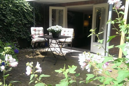 Nice appartment with beautiful, quiet garden - Duivendrecht - 公寓