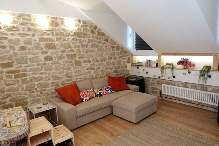 Charming flat in Luxembourg (Clausen-Neudorf)