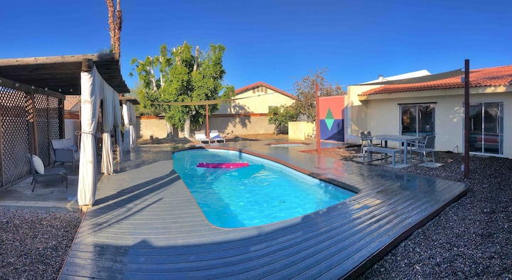NEW*Palm Springs *Private Pool and Spa Oasis Home