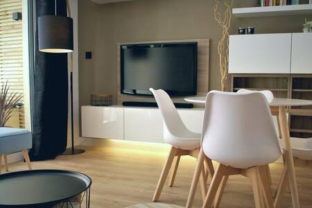 Appartement de standing à canet-plage