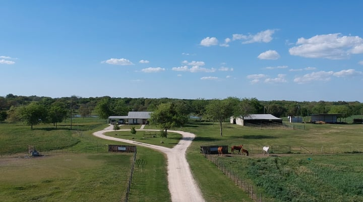 Bring your living quarters trailer and horses