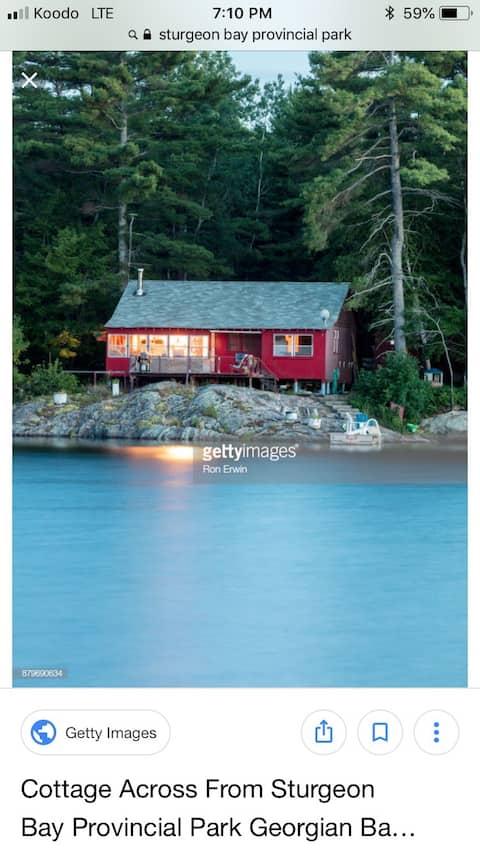 Cottage on Georgian Bay