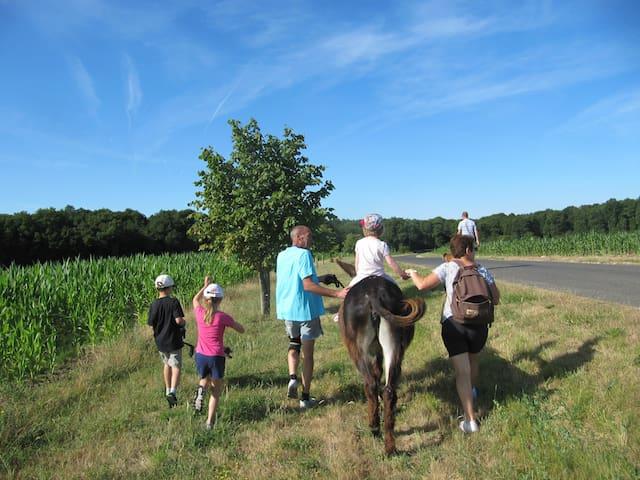 Ferme pédagogique CALME entre Blois et Amboise