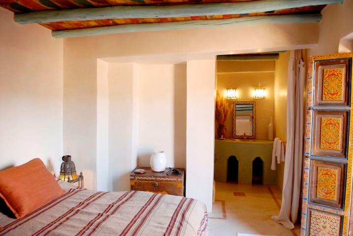 Chambre Dune en terrasse - Hôtel Ouzoud