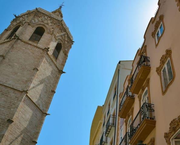 Apartamento frente a la catedral